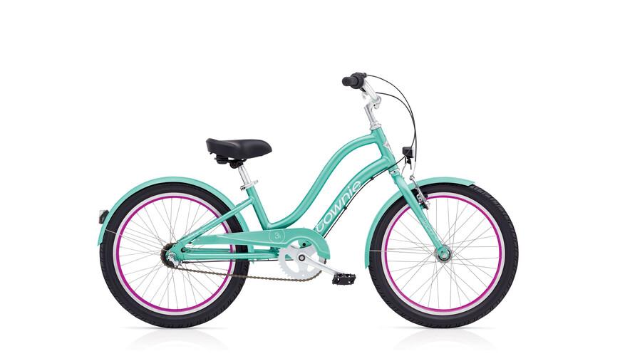 Electra Townie 3i EQ - Vélo enfant - turquoise/Multicolore